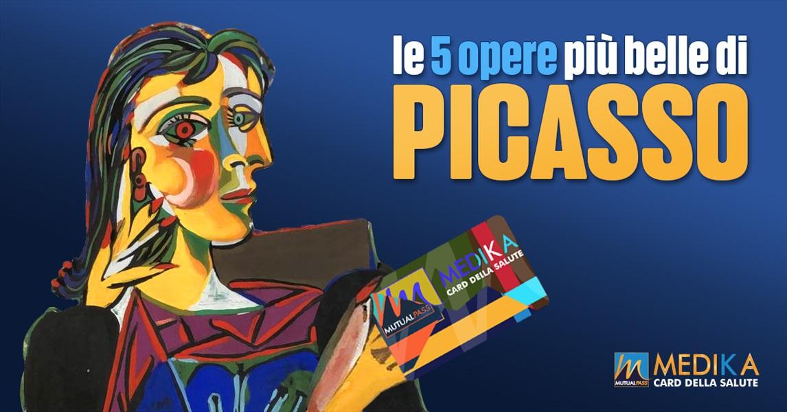 Le 5 Opere più belle di Picasso