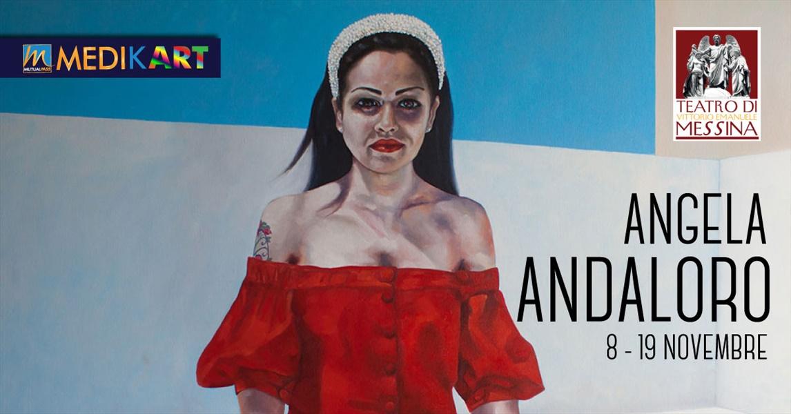 MutualPass - La mostra di Angela Andaloro al Teatro Vittorio Emanuele