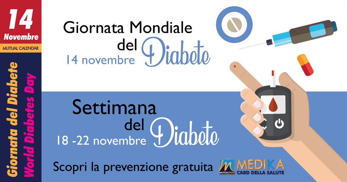 Mutualpass - Giornata Mondiale del Diabete