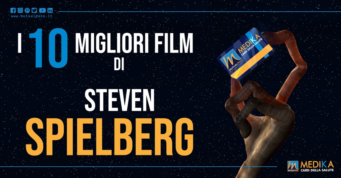 Mutualpass -  I 10 migliori film di Steven Spielberg