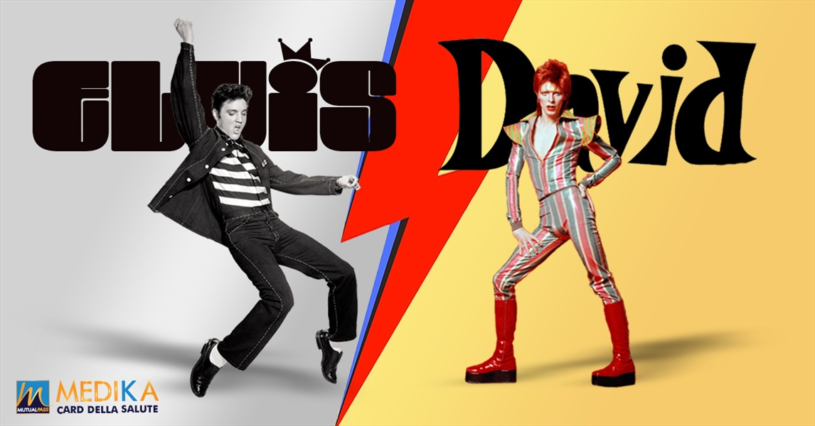 Elvis Presley vs. David Bowie