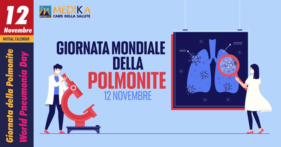 Giornata Mondiale della Polmonite // 12 novembre