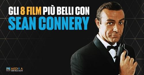Gli 8 più bei film con Sean Connery